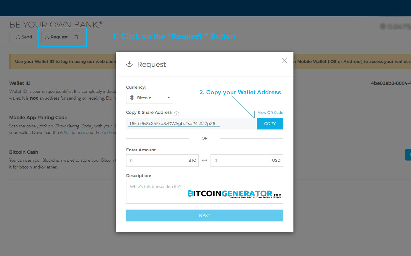 Bitcoin Wallet Address